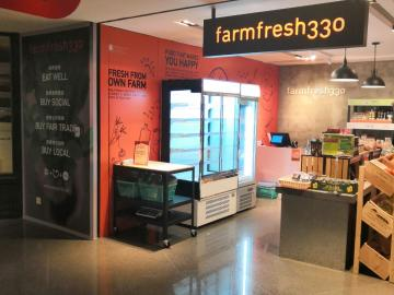 Fancor display freezer, 低溫陳列雪櫃, 冷櫃, Farmfresh330, Queensway plaza, 商用雪櫃, 金鐘廊