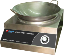Fancor induction cooker wok, 凡高商業用電磁炒爐