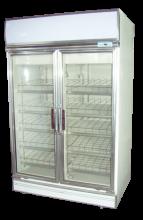 Fancor Two door display chiller with retail shelf, 凡高雙門陳列雪櫃, 滑網雪櫃,便利店雪櫃,商用陳列雪櫃,商用玻璃門飲品櫃,Commercial Drink Chiller