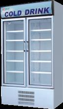 Fancor Two door display chiller, 凡高雙門陳列雪櫃,商用陳列雪櫃,商用玻璃門飲品櫃,Commercial Drink Chiller