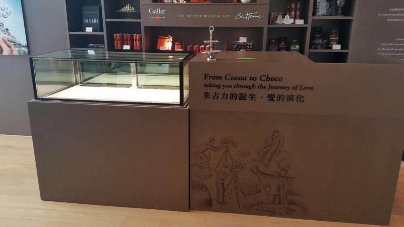 Fancor Jewelry box Chocolate Showcase 珠寶櫃式朱古力展示櫃 Hong Kong Macau