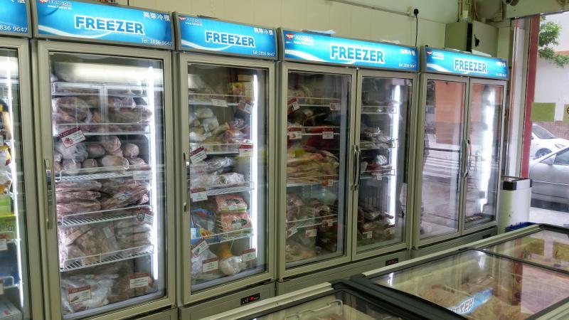 Fancor Display Freezer at Macau supermarket, 澳門超市使用Fancor冷凍櫃
