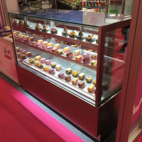 Fancor at HOFEX 2015 Hong Kong, cake showcase